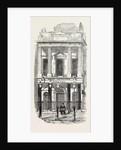 Exterior of the Pavilion Theatre, Whitechapel, London, 1856 by Anonymous