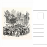 Embarkation of Troops at Gravesend, for Foreign Service: The March Through the Town. The Milton Road. UK, 1846 by Anonymous