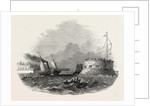 Cronstadt, Arrival of the First Ship after the Breaking Up of the Neva Ice, 1847 by Anonymous