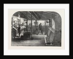 Interior of the A.B. Signal-Box of the South Eastern Railway at the London Bridge Station, London, 1866 by Anonymous