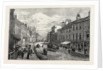 Doncaster, the High Street, UK, 1891 by Anonymous