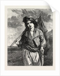 A Neapolitan Fisher Boy., Exhibition of the Society of British Artists in Suffolk Street, London, 1855 by Anonymous