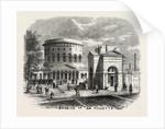Barrier of La Villette, Paris, 1859 by Anonymous
