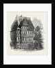 Brunswick: Old Houses Near the Cathedral, 1864 by Anonymous