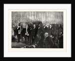 Funeral of Dr. Livingstone in Westminster Abbey, London, 1874 by Anonymous