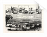 Bedford, the Meeting Place of the Royal Agricultural Society, 1874 by Anonymous