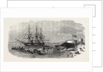 H.M.S. Euryalus, with Prince Alfred on Board, Entering Simon's Bay. 1860 by Anonymous