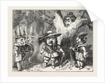 Christmas Pantomimes: City of London. Scene from the Pantomime of Oliver Cromwell by Anonymous