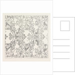 Handkerchief Pattern. 1851 by Anonymous