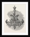 Chandelier. Hanover. 1851 by Anonymous