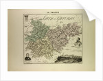 Map of Garn and Garonne by Anonymous