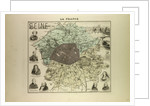 Map of Seine by Anonymous