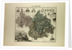 Map of Savoie by Anonymous