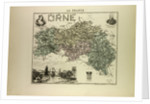 Map of Orne by Anonymous