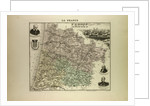 Map of Landes by Anonymous