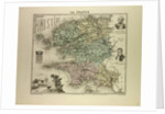 Map of Finistère by Anonymous