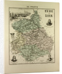 Map of Eure and Loir by Anonymous