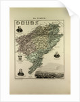 Map of Doubs by Anonymous