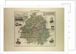 Map of Dordogne by Anonymous