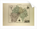 Map of Cantal by Anonymous
