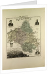 Map of Aveyron by Anonymous