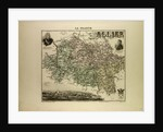 Map of Allier by Anonymous
