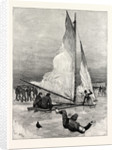Ice Yachting on Loch Cobbinshaw Ready About Result Man Over Board by Anonymous
