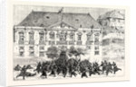 The Military Revolt at Oporto: The Government Troops Taking the Camara the Residence of the Mayor and the Last Stronghold of the Insurgents by Anonymous