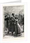 The Arrest of Messrs. O'Brien and Dillon on Their Arrival at Folkestone UK by Anonymous