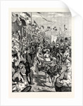 The Carnival at Nice the Battle of Flowers France by Anonymous