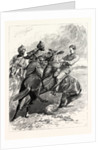 The Cavalry Manoeuvres at Attock India-Native Cavalry Stopping a Scout by Anonymous