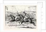 The House of Commons Steeplechase a Close Finish in the Heavy Weight Division by Anonymous