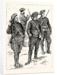 Chasseurs Making a Reconnaissance Among the Mountains France by Anonymous