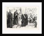 Sweet Girl Graduates: The Vice-Chancellor (Sir James Paget) Conferring Degrees at London University UK by Anonymous