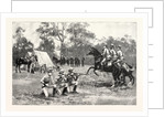 The Royal Military Tournament: The Victorian Rifles Practising at Windsor UK by Anonymous