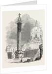 Column of Trajan. Rome Italy by Anonymous