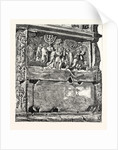 Frieze from the Arch of Titus. Rome Italy by Anonymous