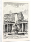 Fountain in Front of the Vatican. Rome Italy by Anonymous