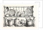Cooking Utensils from Pompeii in the Museum at Naples. by Anonymous