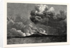 Eruption of Mount Vesuvius in 1872 by Anonymous