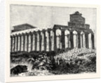 Temple of Vesta at Paestum by Anonymous