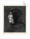 Savonarola after the Portrait in San Marco by Anonymous