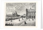The Piazzetta Venice by Anonymous
