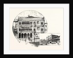 Ca' D'Oro Palace on the Grand Canal Palace of the Doges Venice by Anonymous