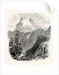 Monte Viso from the Head of the Val Pellice by Anonymous