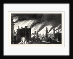The Great Fire of London 1666 by Anonymous