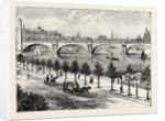 The Thames Embankment and Waterloo Bridge 1895 by Anonymous