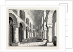Norman Chapel in the White Tower Tower of London by Anonymous