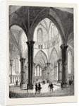 Interior of the Temple Church in London by Anonymous