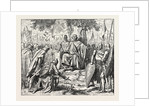 Henry I. Receiving the Homage of Vassal Chiefs. by Anonymous
